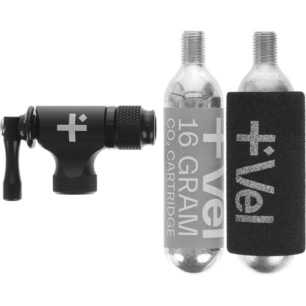 Vel CO2 Flow Regulator Head With 16g Cartridge