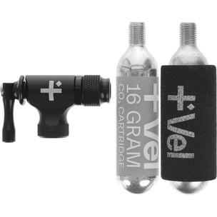 Vel CO2 Flow Regulator Head With 16g Cartridge