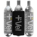 Vel 16g Threaded CO2 Cartridges 3 Pack