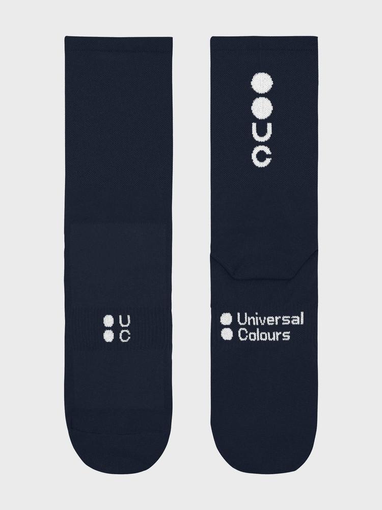 Mono Summer Socks Navy Blue