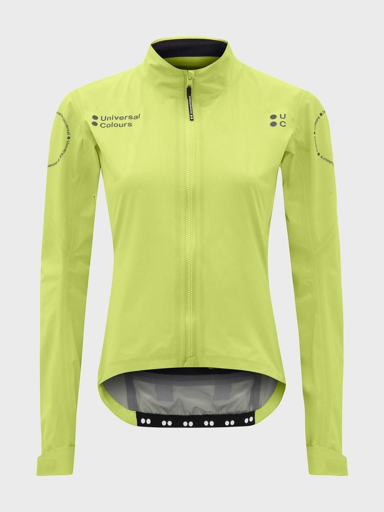 Chroma Women's Rain Jacket Glam Lime Green