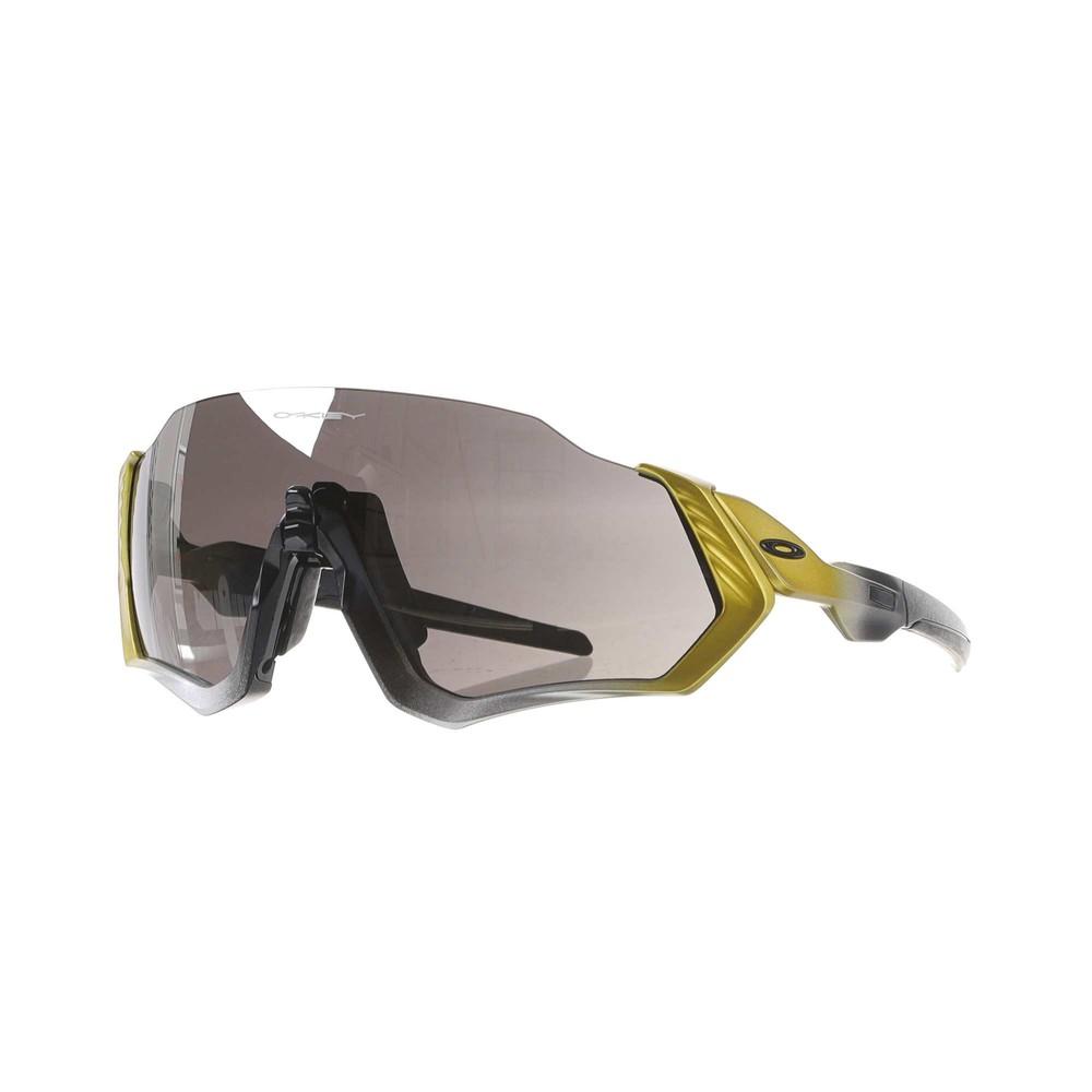 Oakley TdF Collection Flight Jacket Sunglasses With Prizm Black Lens