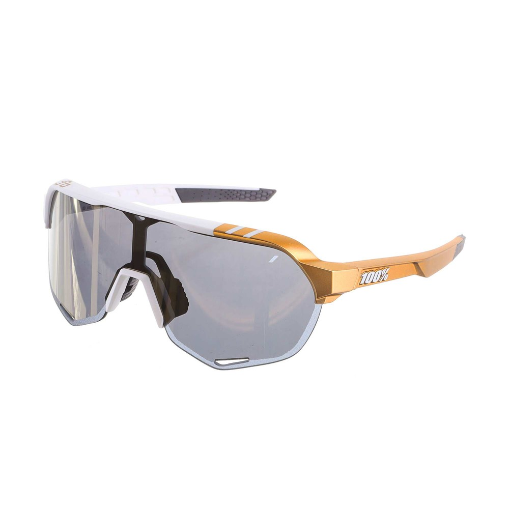 100% S2 Sagan Limited Edition Sunglasses With Soft Gold Mirror Lens