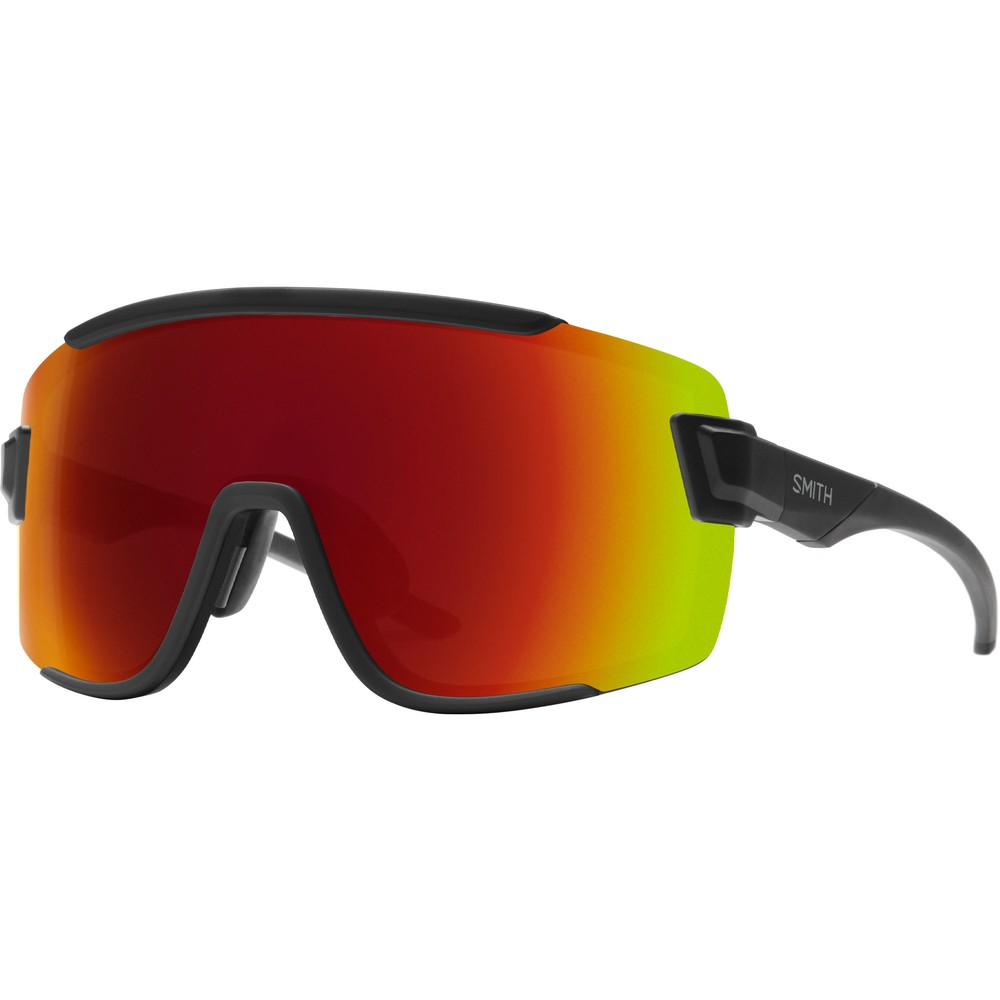 Smith Wildcat Sunglasses With ChromaPop Red Mirror Lens