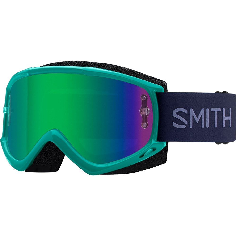 Smith Fuel V.1 Goggles With Green Mirror Lens