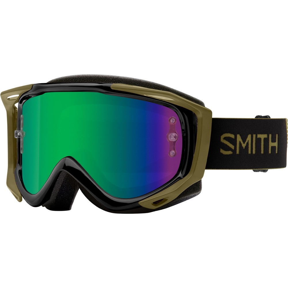 Smith Fuel V.2 Goggles With Green Mirror Lens