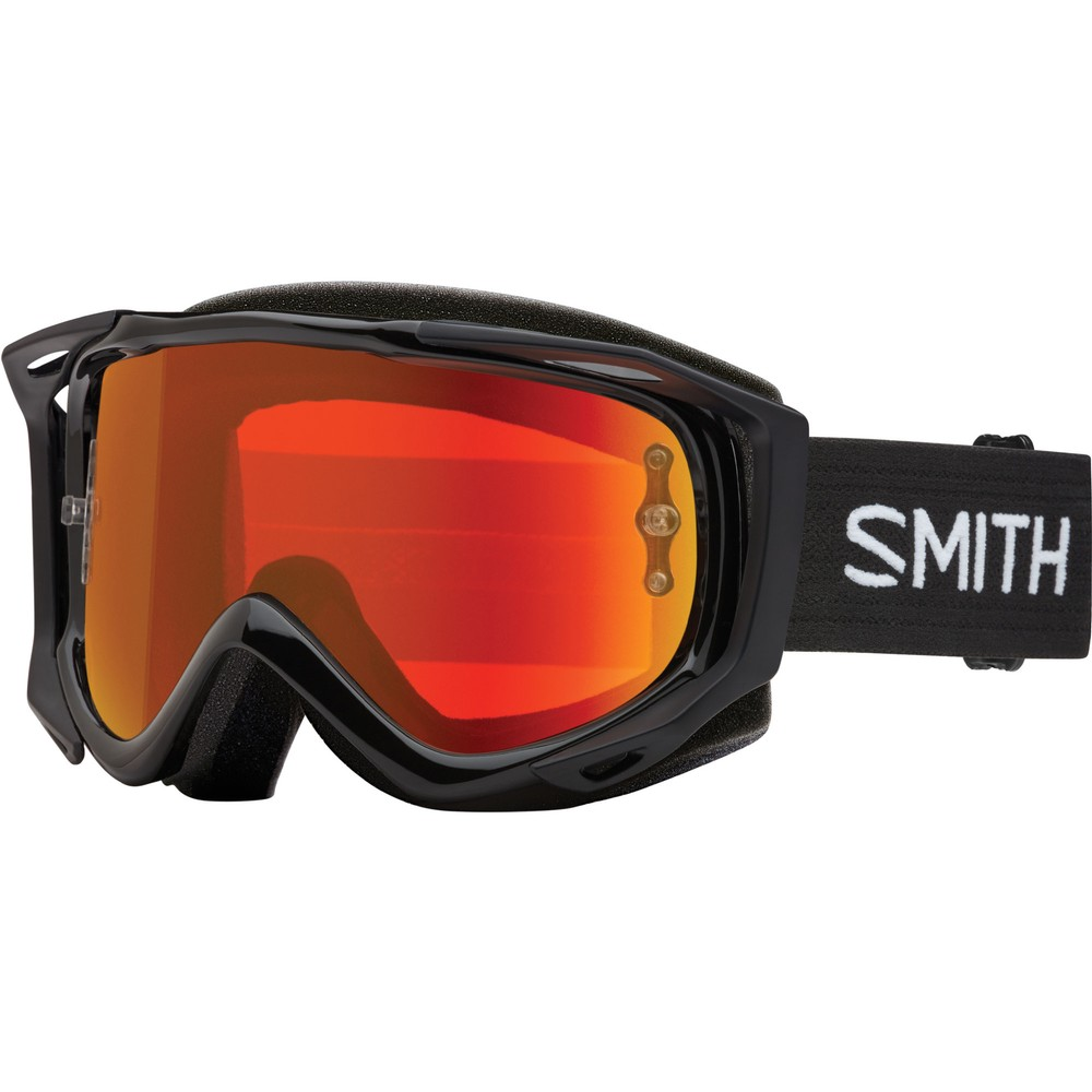 Smith Fuel V.2 Goggles With Red Mirror Lens