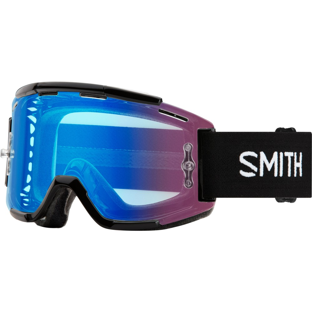 Smith Squad MTB Goggles With Rose Flash Lens