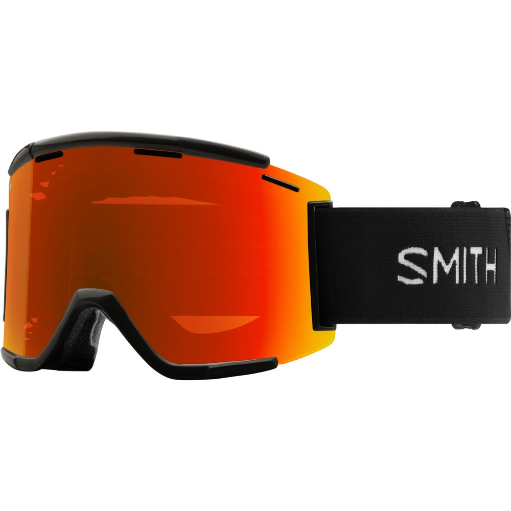 Smith Squad MTB XL Goggles With Red Mirror Lens