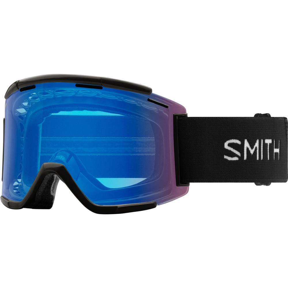 Smith Squad MTB XL Goggles With Rose Flash Lens