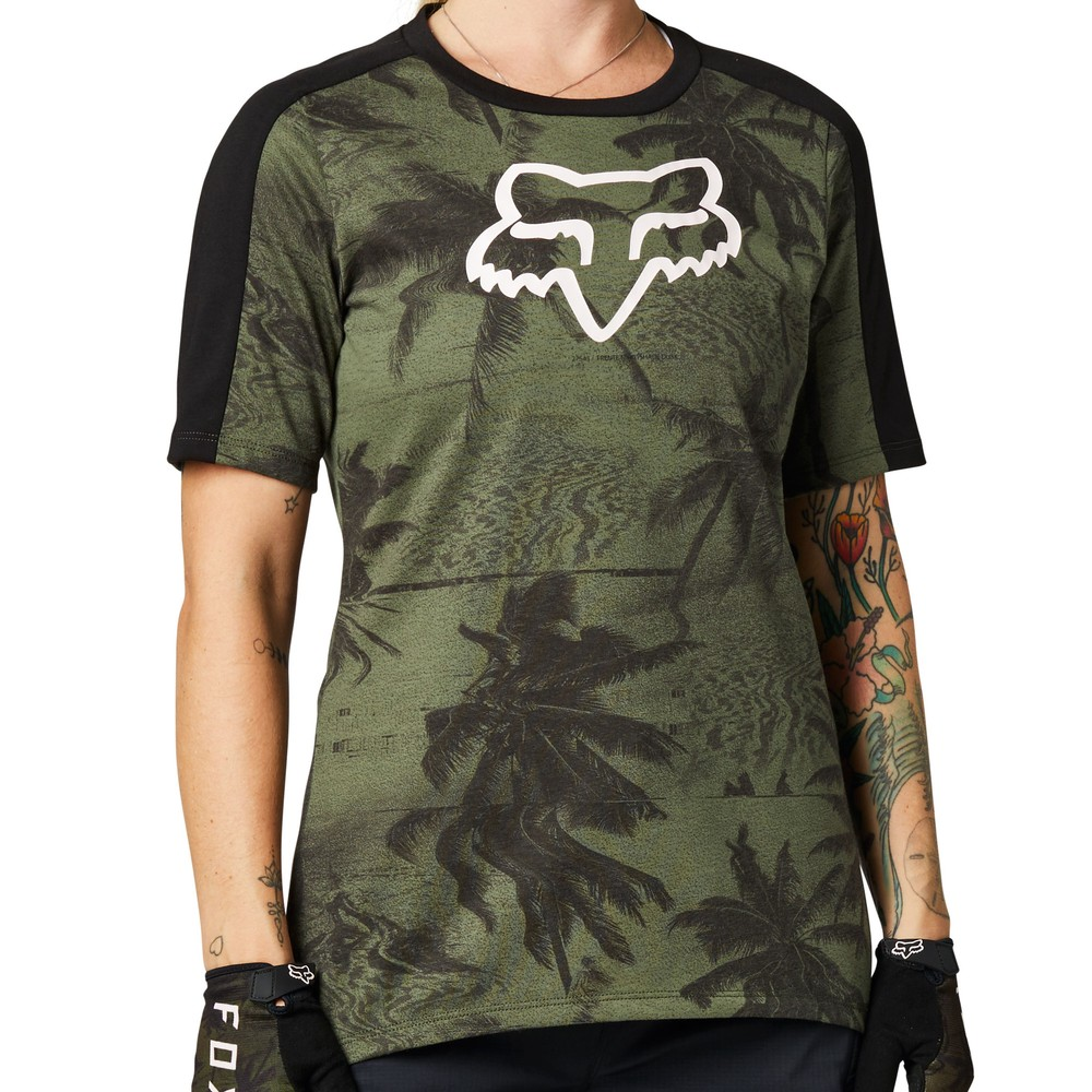 Fox Racing Permanent Vacation Ranger DR Womens Short Sleeve Jersey