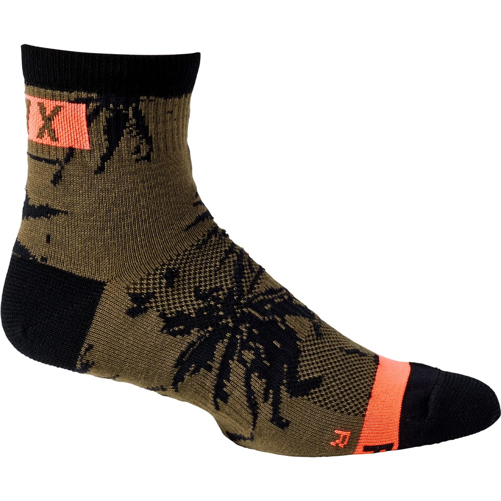 Fox Racing Permanent Vacation Flexair Merino Socks