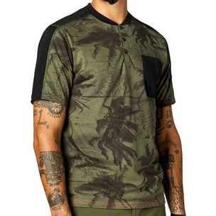 Fox Racing Permanent Vacation Ranger DR Short Sleeve Henley
