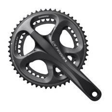 Shimano Ultegra 6700 Double Chainset Grey 53-39