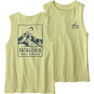 Patagonia Ridgeline Runner Organic Womens Muscle Tee