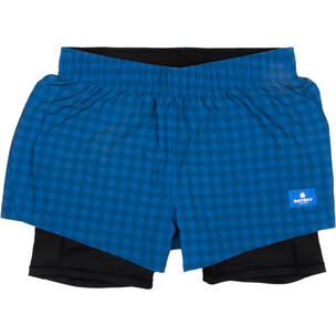 SAYSKY Checker 2 In 1 Womens Running Short