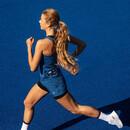 SAYSKY Checker 2 In 1 Womens Running Short