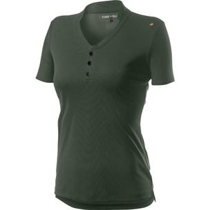 Castelli Tech Polo Womens Short Sleeve Shirt