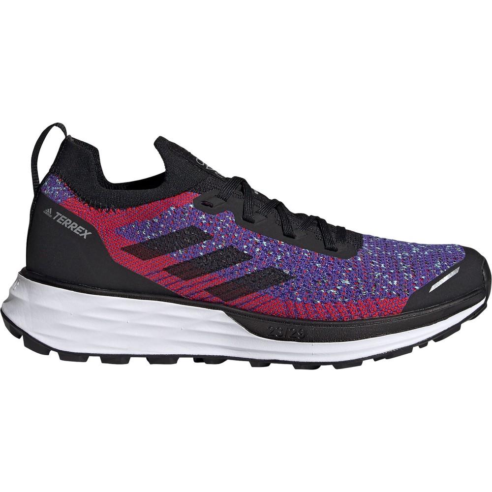 Adidas Terrex Two Primeblue Womens Trail Running Shoes