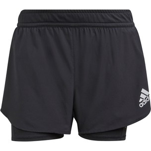 Adidas Fast Primeblue Two-In-One Womens Running Short