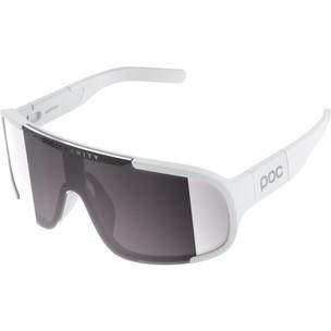 POC Aspire Sunglasses Hydrogen White With Violet/Silver Mirror Lens