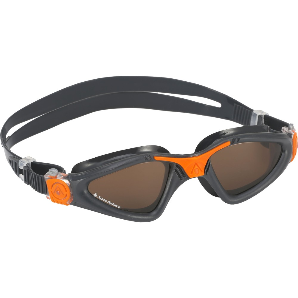 Aqua Sphere Kayenne Goggles With Polarized Brown Lens