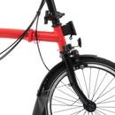Brompton Black Edition S6L Folding Bike With Mudguards