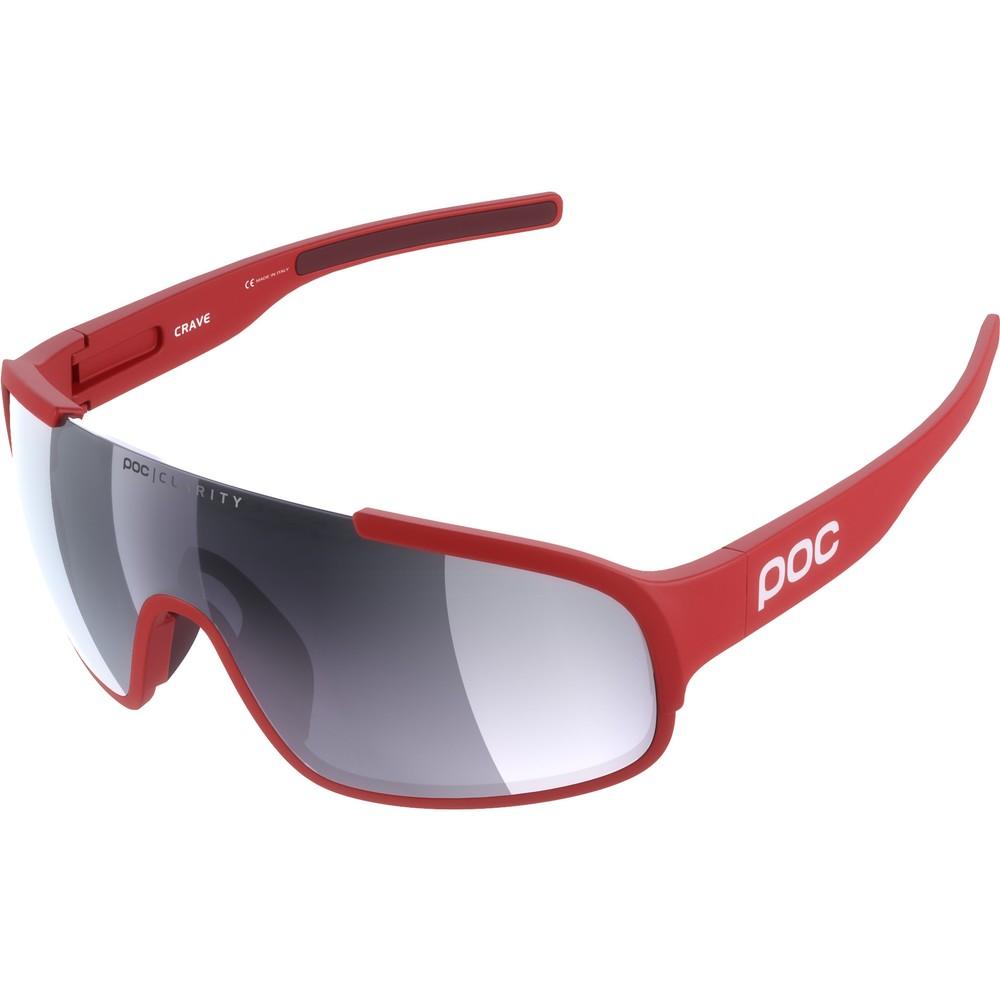 POC Crave Sunglasses With Violet/Silver Mirror Lens