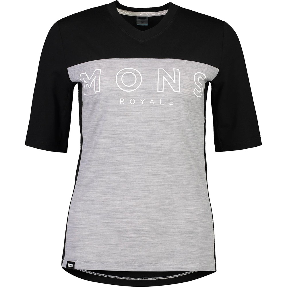 Mons Royale Redwood Enduro Womens V-Neck Tee