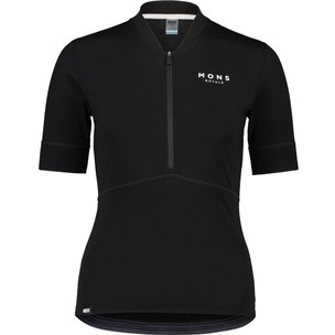 Mons Royale Cadence Womens Half Zip Jersey