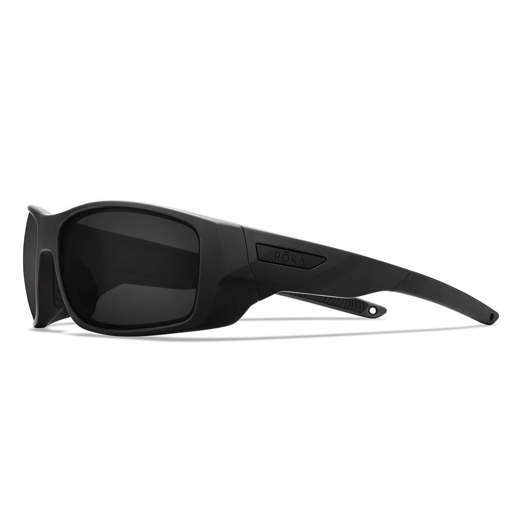ROKA AT-1 Sunglasses With Dark Carbon C3 Impact Polarised Lens