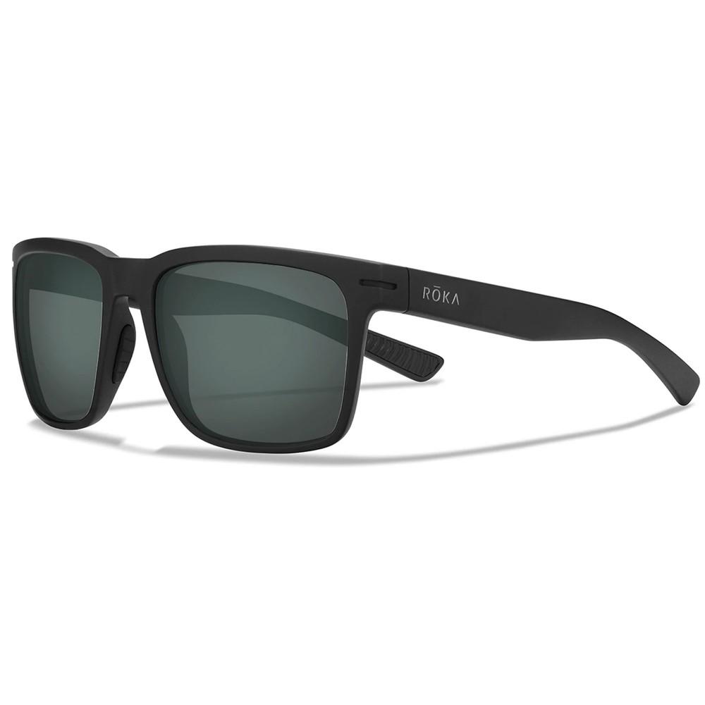 ROKA Barton Sunglasses With Dark Carbon C3 Ultra Polarised Lens