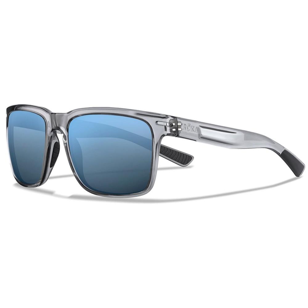 ROKA Barton Sunglasses With Glacier Mirror C3 Ultra Lens