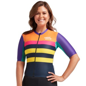 Black Sheep Cycling Classics Monuments LuxLite WMN Womens Short Sleeve Jersey