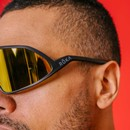 ROKA Matador Sunglasses With Gold Mirror C3 Ultra Lens