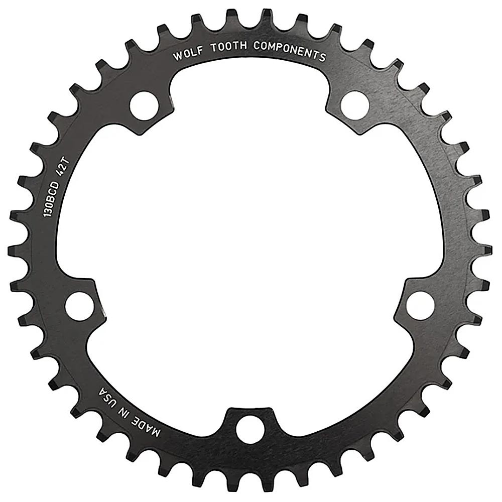 Wolf Tooth Components 130 BCD Flat Top 1x Chainring