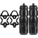 Vel RSL Carbon Bottle Cages & 750ml Bottles Bundle