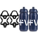 Vel RSL Carbon Bottle Cages & 500ml Bottle Bundle
