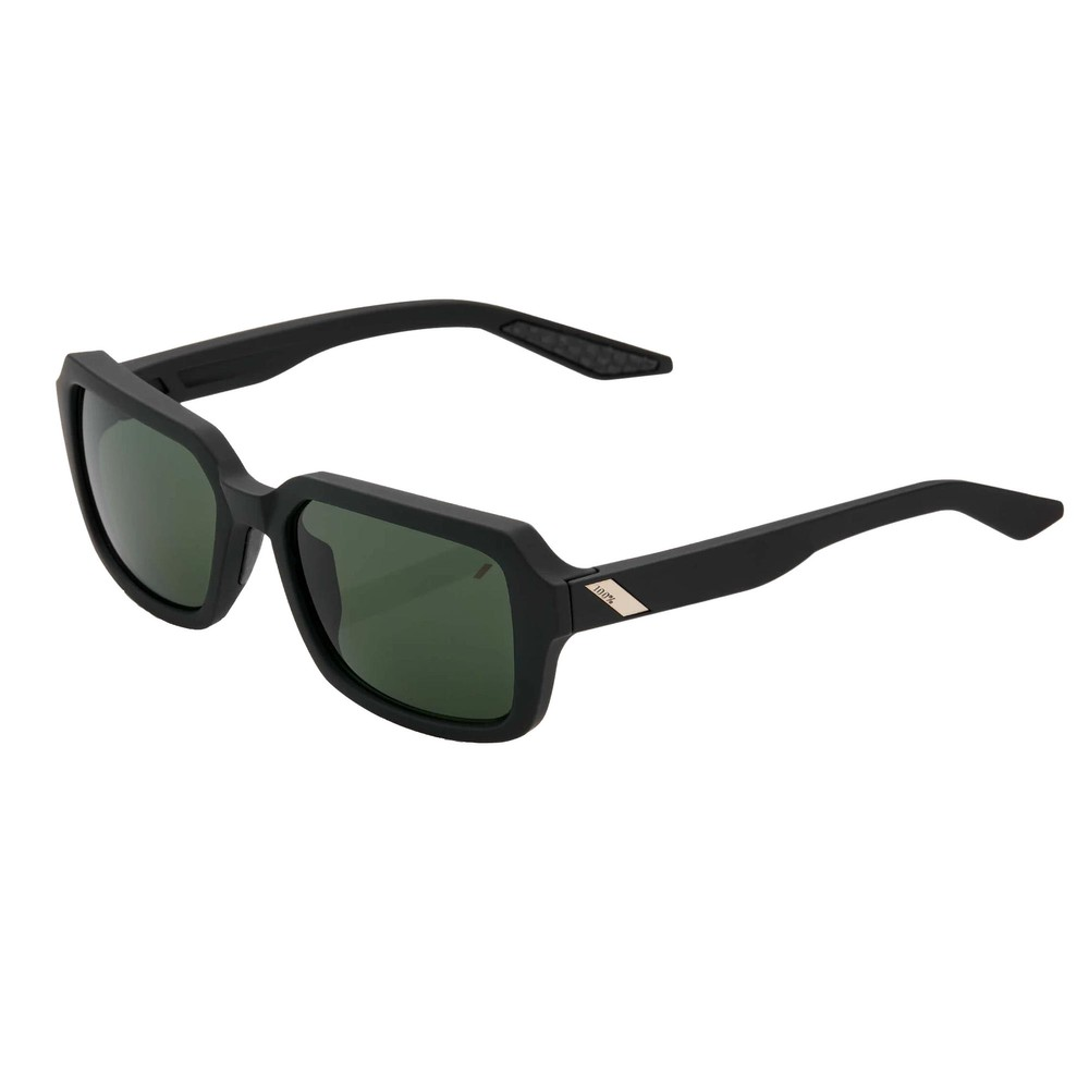 100% Rideley Sunglasses With Grey Green Lens