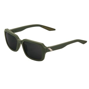 100% Rideley Sunglasses With Black Mirror Lens