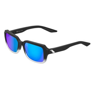 100% Rideley Sunglasses With Blue Mirror Lens