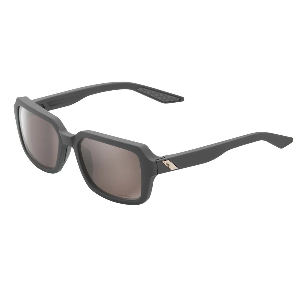100% Rideley Sunglasses With HiPER Silver Lens
