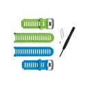 Garmin Forerunner 910XT Accessory Bands (Blue And Green)
