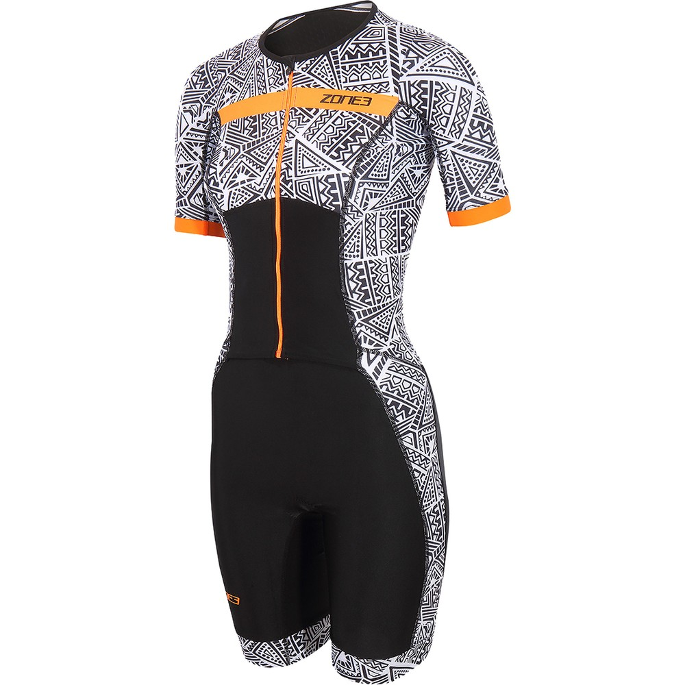 Zone3 Activate Plus Kona Speed Womens Short Sleeve Trisuit