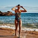 Zone3 Aztec 3.0 Strap Back Womens Swim Costume