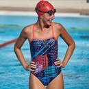 Zone3 Aztec 2.0 Strap Back Womens Swim Costume