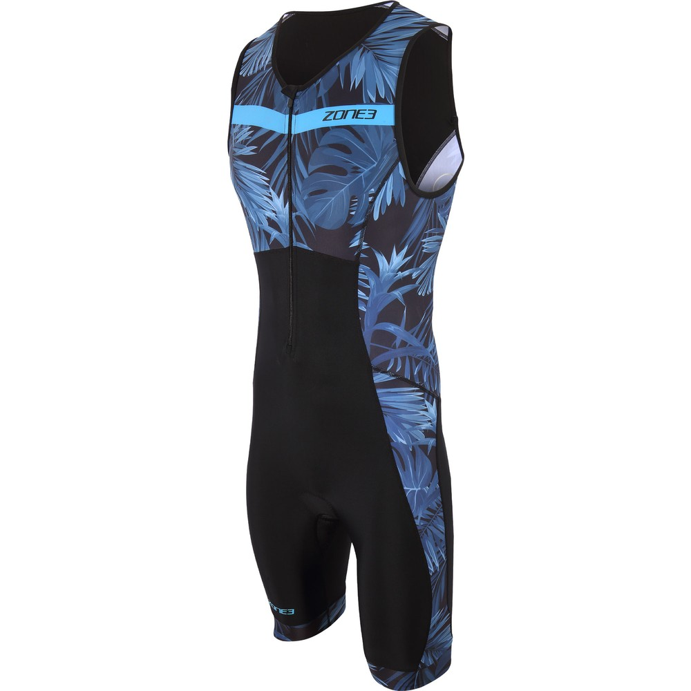 Zone3 Activate Plus Tropical Palm Sleeveless Trisuit