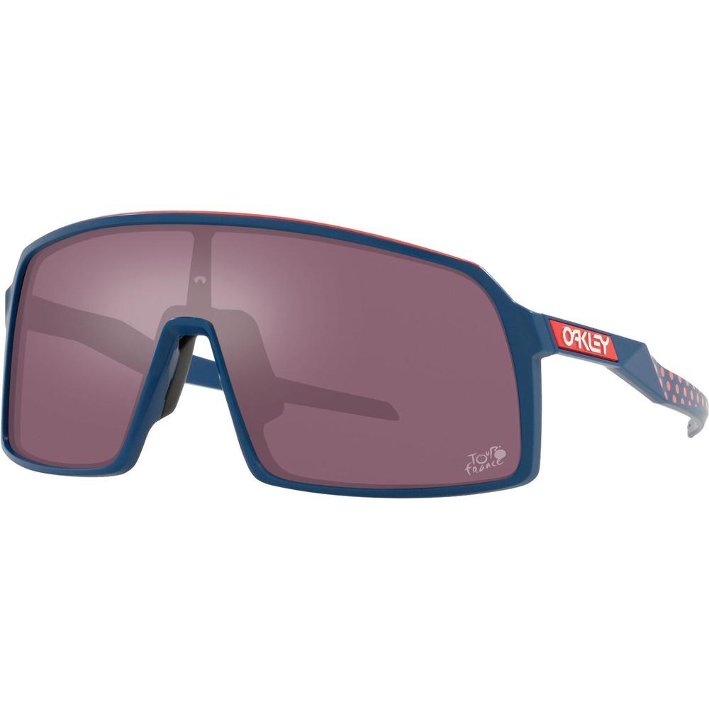 Oakley Sutro Sunglasses TdF Edition With Prizm Road Black Lens