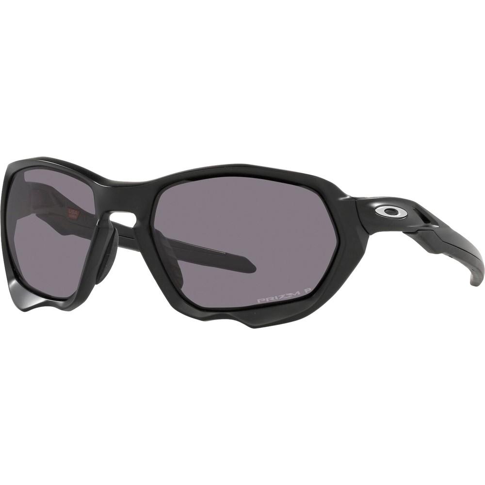 Oakley Plazma Sunglasses With Prizm Grey Polarized Lens
