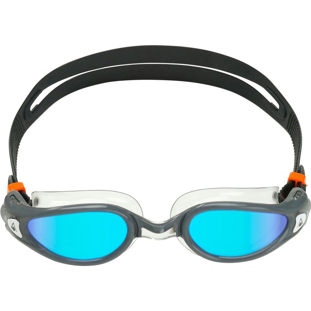 Aqua Sphere Kaiman Exo Goggles With Blue Titanium Mirror Lenses